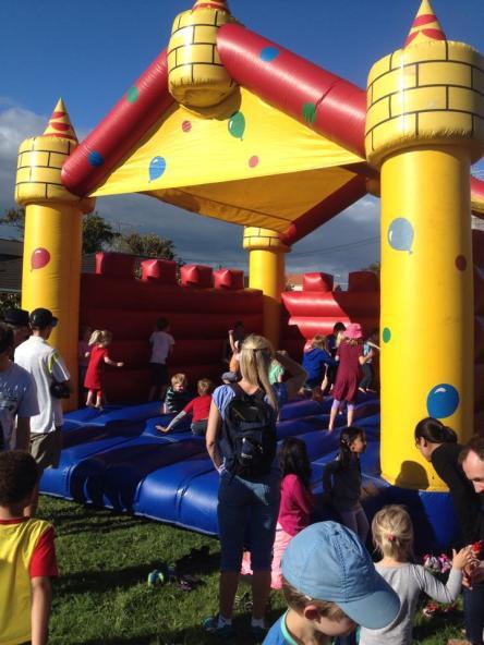 Bouncy castle Xmas Celebration