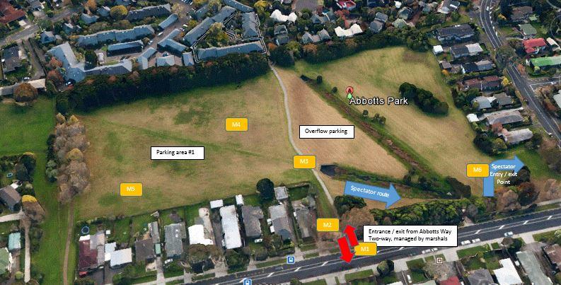 Abbotts parking plan