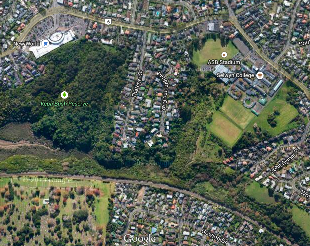 Pourewa Valley Google Maps