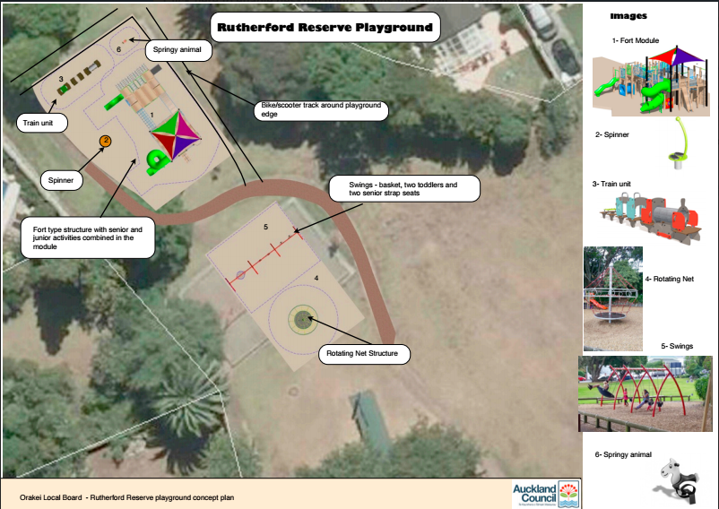 Rutherford Reserve Playground