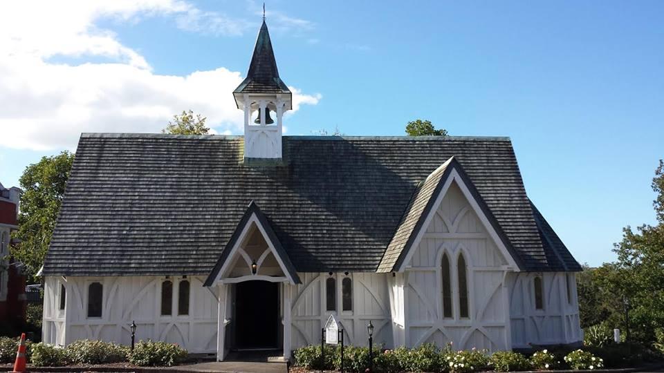The magnificent chapel built in 1846. Photo credit: Carmel Claridge.